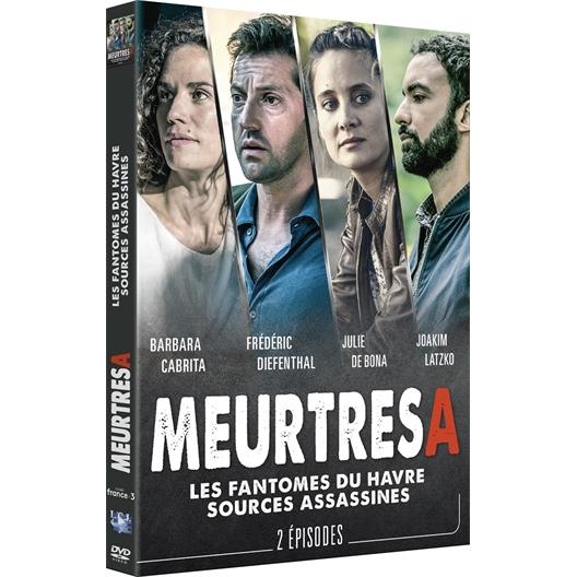 Meurtres à... Les fantômes du Havre & Les sources assassines : Frédéric Diefenthal, Barbara Cabrita, Julie de Bona, ...