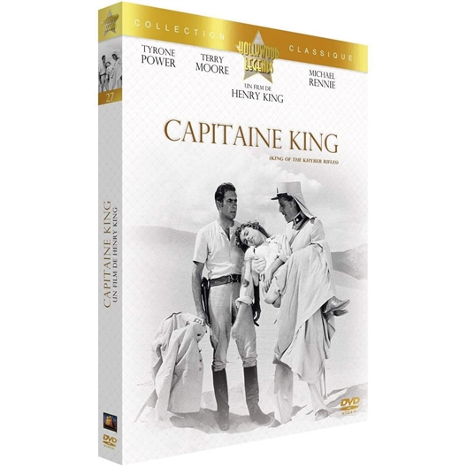 Capitaine King : Tyrone Power, Terry Moore, …