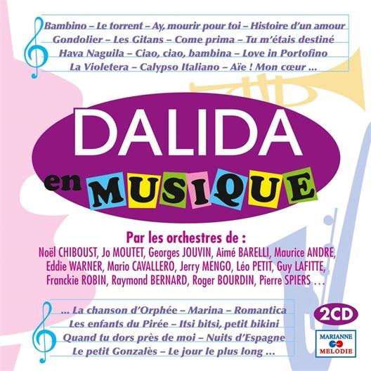 Dalida : En musique (2 CD)