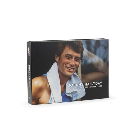Agenda calendrier 2021 : Johnny Hallyday