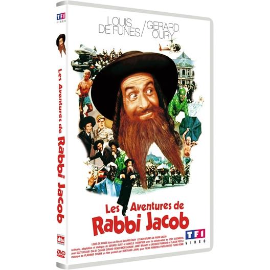 Les aventures de Rabbi Jacob : Louis de Funès, Suzy Delair...