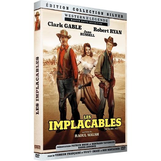 Les implacables : Clark Gable, Robert Ryan, …