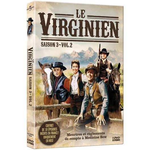 Le Virginien - Saison 3 - Volume 2 : James Drury, Doug MacClure, …