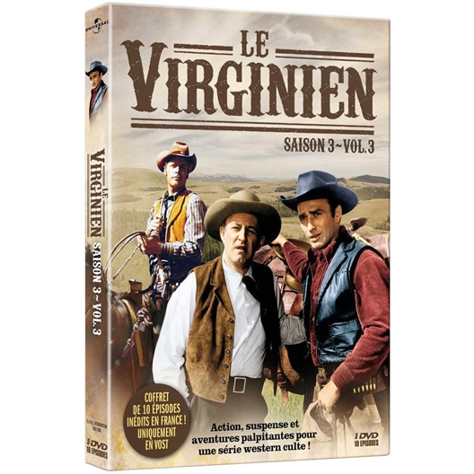 Le Virginien - Saison 3 - Volume 3 : James Drury, Doug MacClure, …