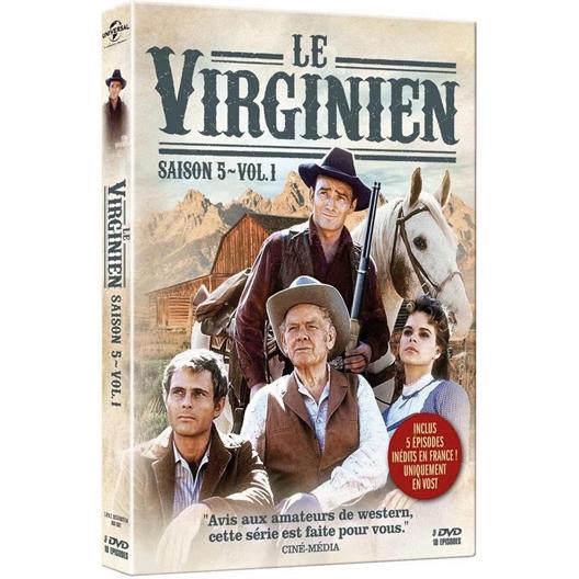 Le Virginien - Saison 5 - Volume 1 : James Drury, Doug MacClure, …