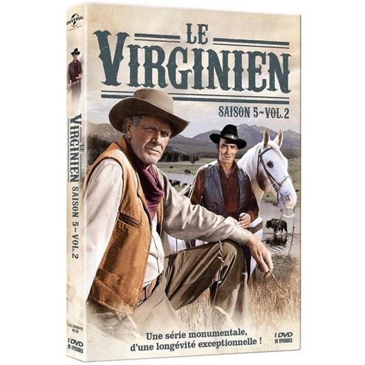 Le Virginien - Saison 5 - Volume 2 : James Drury, Doug MacClure, …