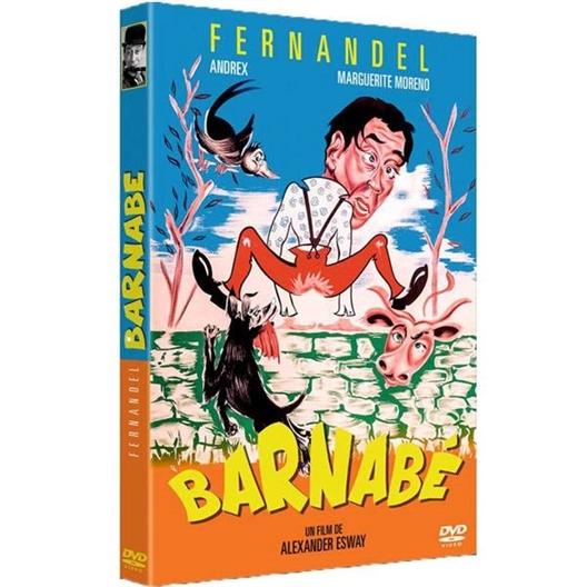 DVD Barnabé : Fernandel, Paulette Dubost, Claude May, Andrex
