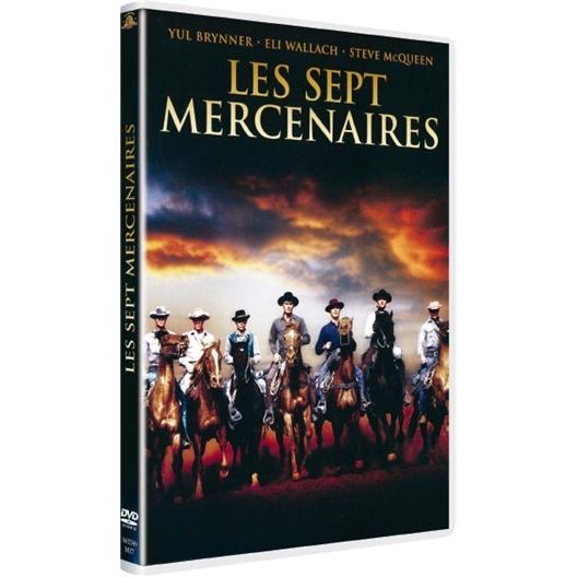 Les 7 mercenaires (DVD)