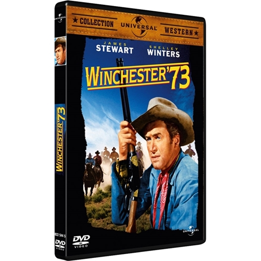 Winchester 73 : James Stewart, Shelley Winters… (DVD)