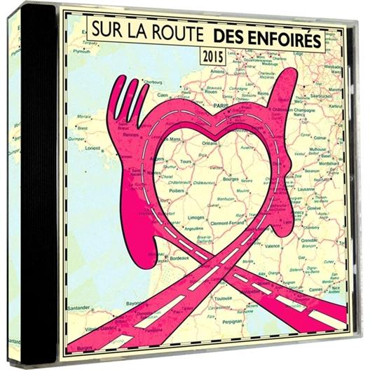 Sur la route des enfoirés (2 CD)