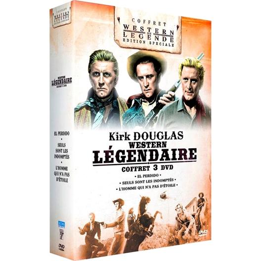 Coffret Kirk Douglas : 3 Westerns légendaires : Kirk Douglas, Jeanne Crain, Claire Trevor