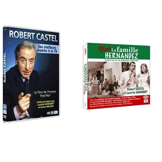 Le Lot Robert Castel : DVD + 4CD