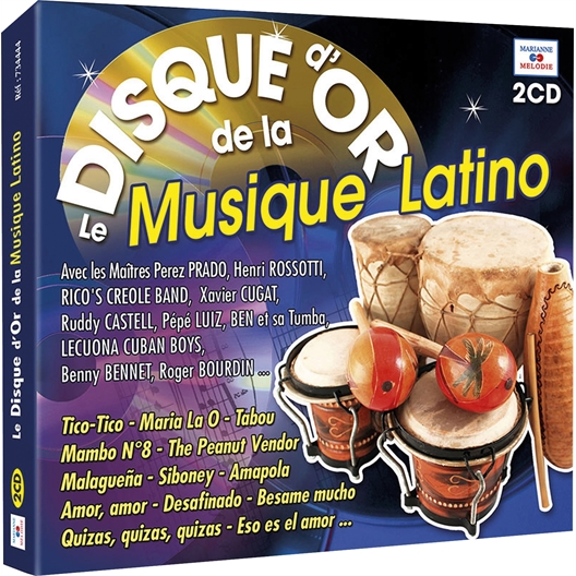 Le Disque d'Or de la Musique Latino