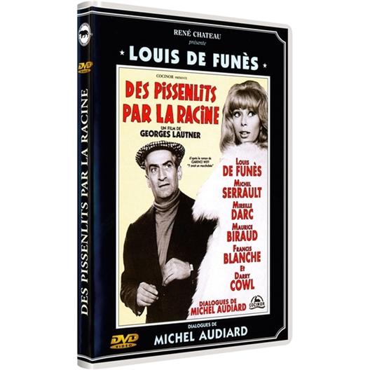Des pissenlits par la racine : Louis de Funès, Mireille Darc...