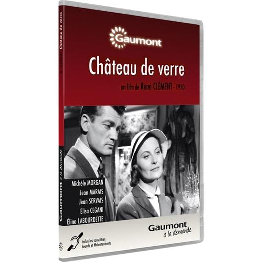 Château de verre : Jean Marais, Michèle Morgan, Jean Servais… (DVD)