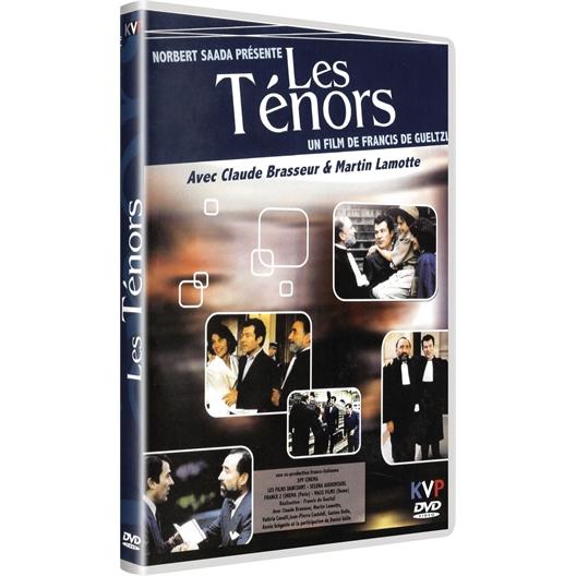 Les ténors : Claude Brasseur, Martin Lamotte, …