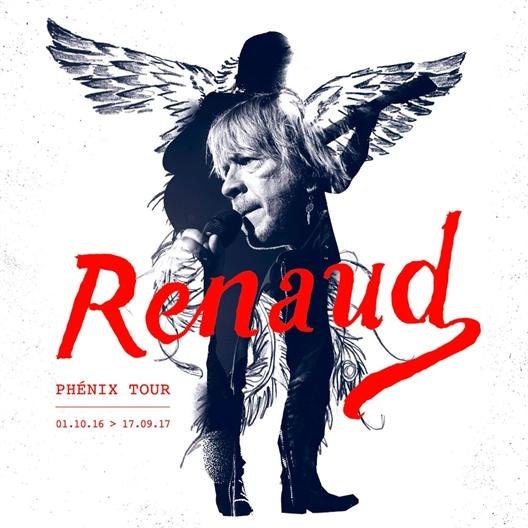 Renaud : L'album Live évènement (CD)