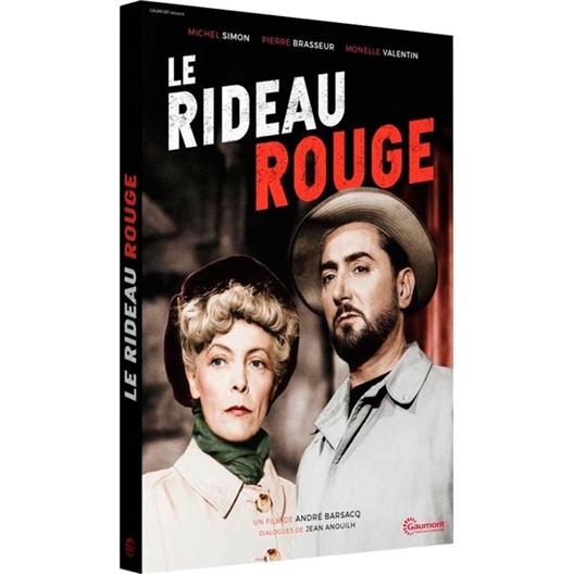 Le rideau rouge : Michel Simon, Pierre Brasseur
