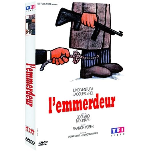 L'emmerdeur : Lino Ventura, Jacques Brel