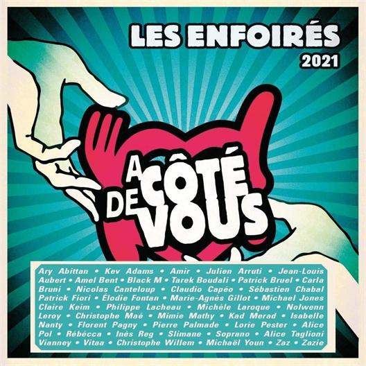2021, Les enfoirés : A côté de vous (coffret 2 CD)