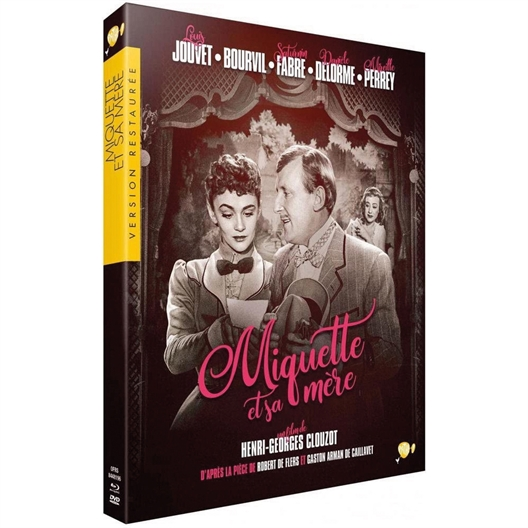 Miquette et sa mère : Bourvil, Louis Jouvet, Mireille Perrey, …