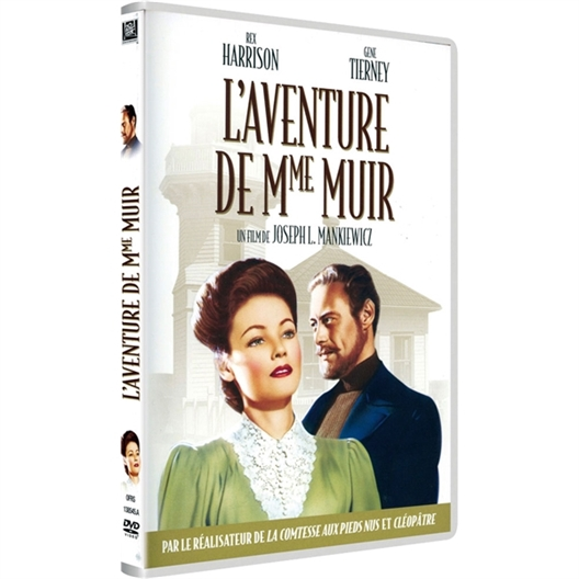 L'aventure de madame Muir : Rex Harrison, Gene Tierny…