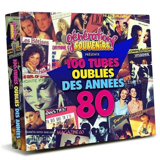 100 tubes oubliés des années 80