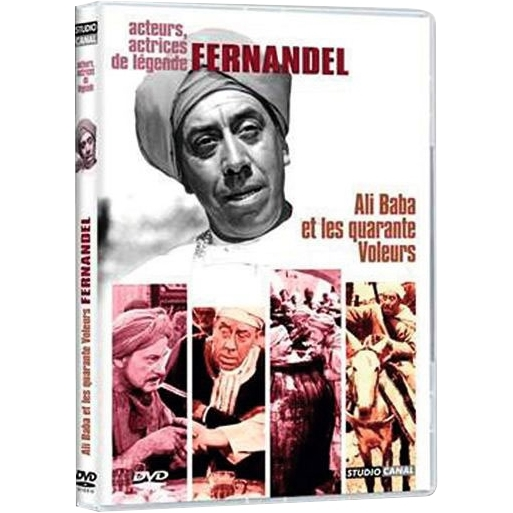 Ali Baba et les quarantes voleurs : Fernandel, Gamal