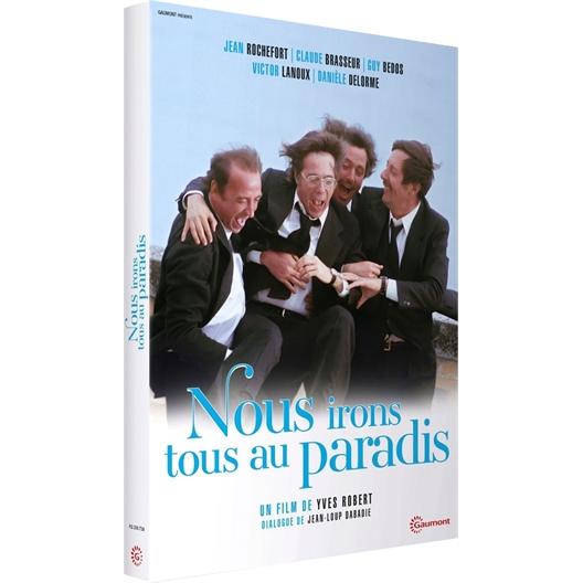 Nous irons tous au paradis : Claude Brasseur, Victor Lanoux, Jean Rochefort, Guy Bedos, …