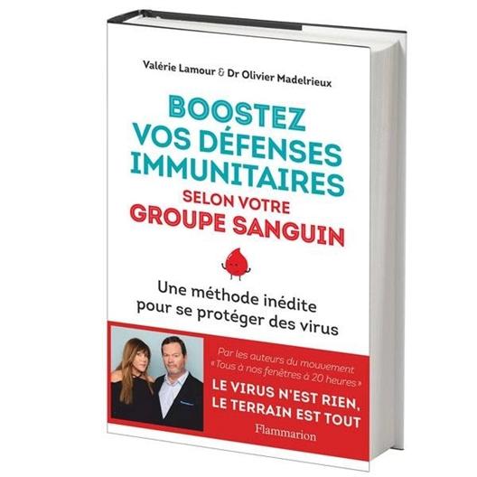 Boostez vos défenses immunitaires selon votre groupe sanguin : Valérie Lamour, Olivier Madelrieux