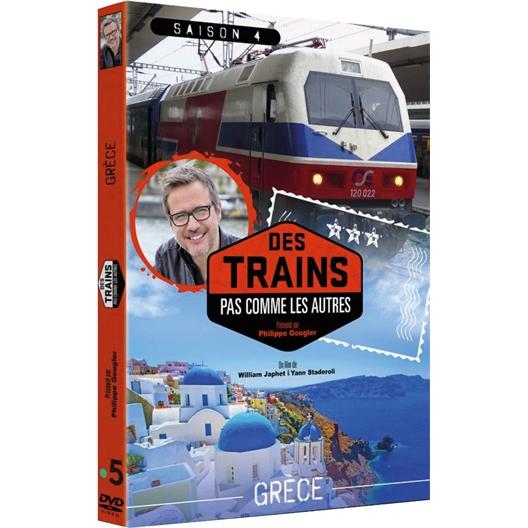 Grèce en train