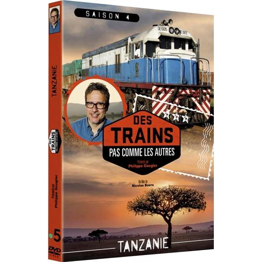 Tanzanie en train