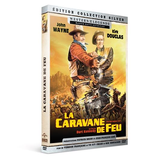 La caravane de feu : John Wayne, Kirk Douglas, …