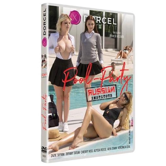 Pool-Party Russian Institute : Zazie Skymm, Tiffany Tatum, …