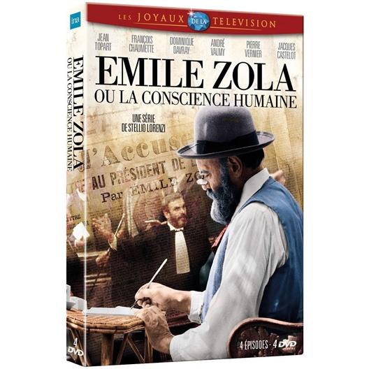 Emile Zola ou La Conscience humaine : Jean Topart, Dominique Davray, …