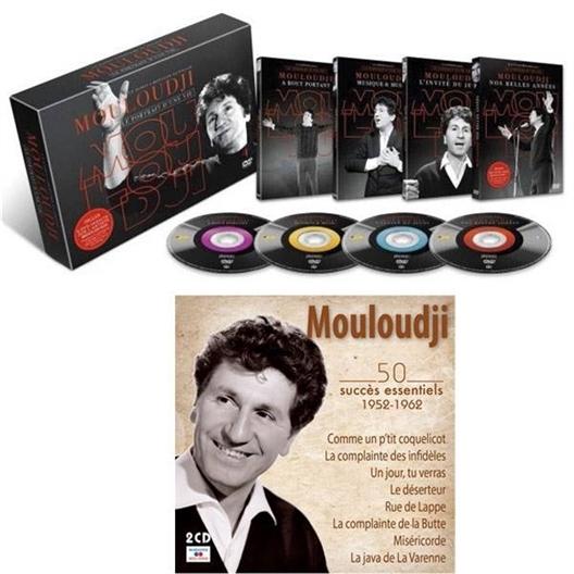 """Le coffret 4 DVD + Le Double CD """"MOULOUDJI"""""""