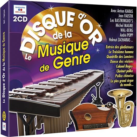 Le Disque d'Or de la Musique de Genre