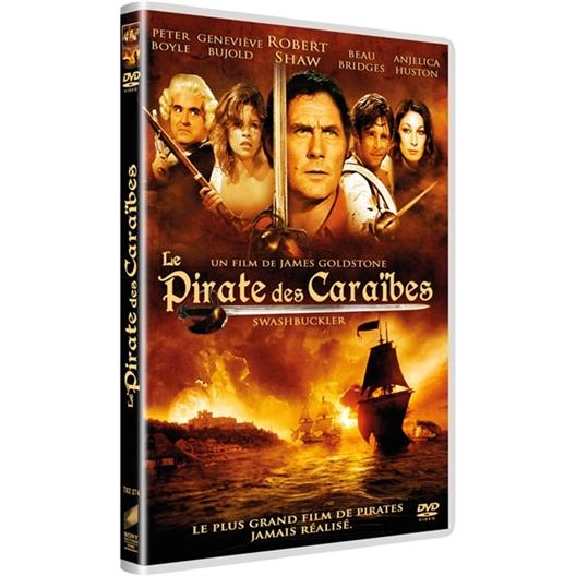 Le pirate des Caraïbes : Peter Boyle, Geneviève Bujold, Robert Shaw, Angélica Huston