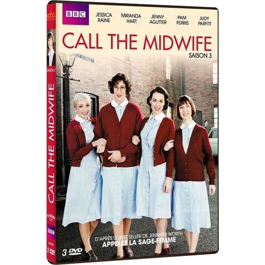 Call the midwife - Saison 3 : Jessica Raine, Jenny Agutter, Miranda Hart