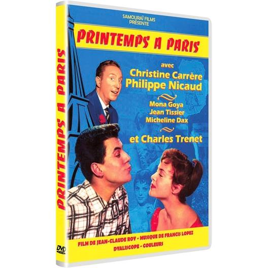Printemps à Paris : Christine Carrère, Philippe Nicaud, Charles Trénet