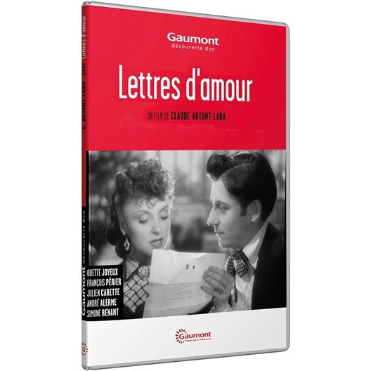 Lettres d'amour : Odette Joyeux, François Périer, …