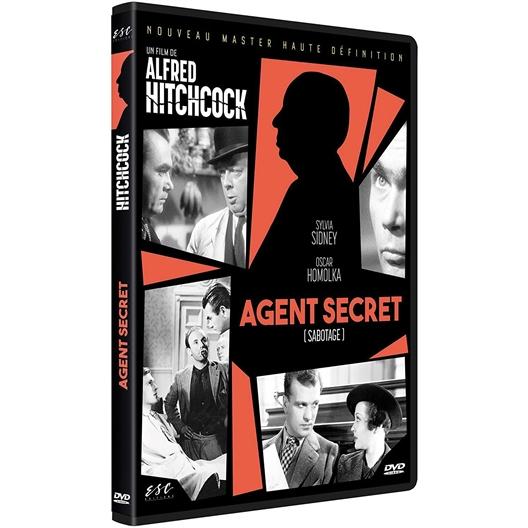 Agent secret : Sylvia Sydney, Oscar Homolka…