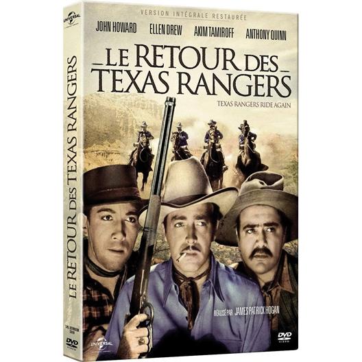 Le retour des Texas Rangers : Anthony Quinn, Ellen Drew, John Howard, …