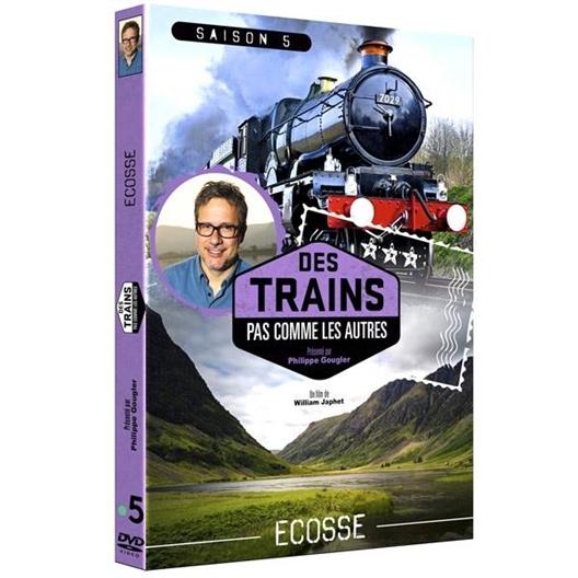 L'écosse en train