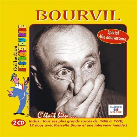 2 CD Bourvil Le roi du rire