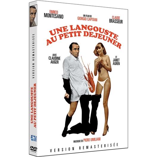 """DVD """"Une Langouste au petit déjeuner"""""""