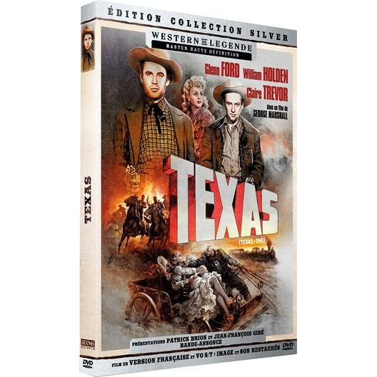 Texas : Glenn Ford, William Holden, ...