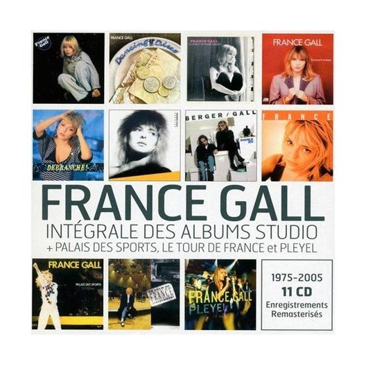 France Gall : Intégrale album studio 1975 - 2005 + Live