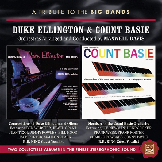 Duke Ellington & Count Basie : A Tribute To The Big Bands