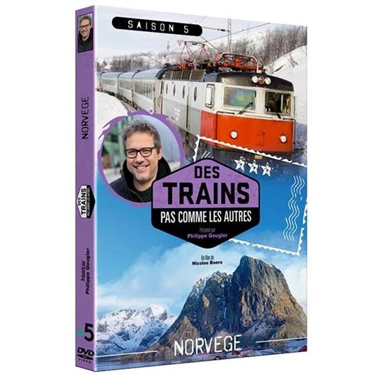 Norvège en train